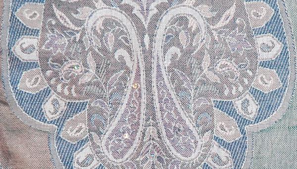 Concord Floral Sequin Shawl Stole