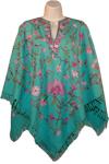 Kepel Designer Wool Poncho