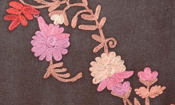 Zambezi Floral Embroidered Shawl