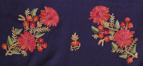 Cinder Embroidered Shawl