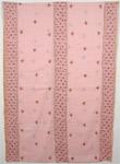 Azalea Hand Embroidery Pink Shawl Stole