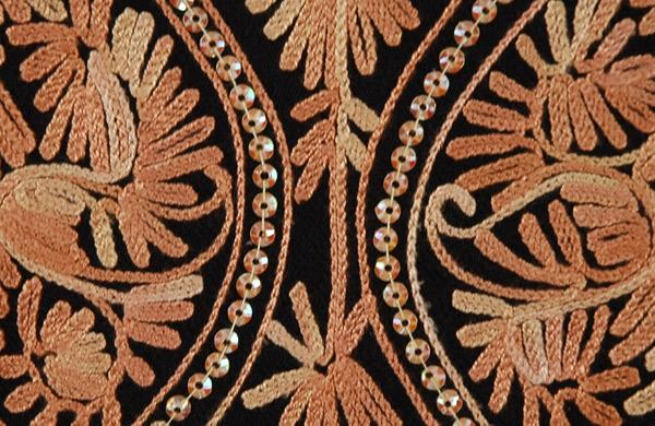 Copper Dazzle Fashion Stole