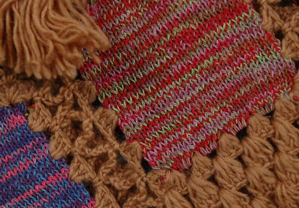 Cape Palliser Crochet Fringe Poncho