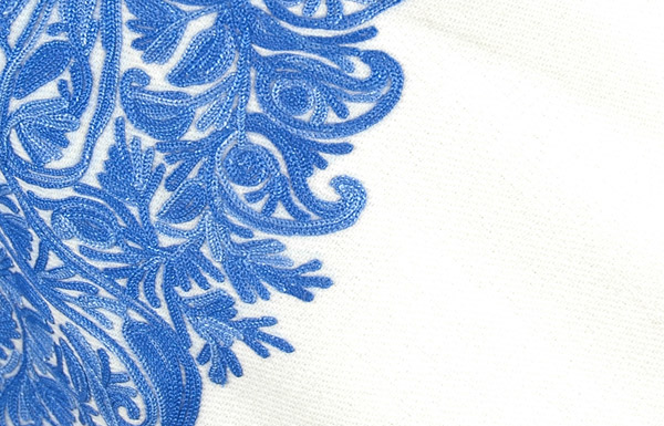 Westar Kashmiri Embroidered Wool Poncho