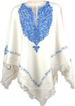 Westar Kashmiri Embroidered Wool Poncho