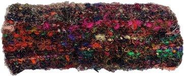Multicolored Recycled Woolen Hippie Headband