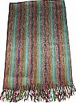 Bohemian Multi-Color Stripes Stole/ Shawl