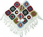 White Crochet Poncho