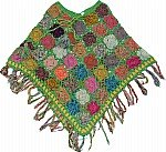 Fruit Salad Crochet Poncho