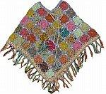 Manatee Crochet Poncho