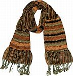 Brown Rust Neck Scarf