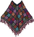 Ebony Handmade Crochet Poncho Patterns