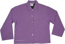 Orchid Purple Cotton Spring Fall Cotton Jacket