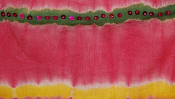 Valencia Pink Cotton Fish Cut Skirt