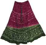 Gypsy Muse Bohemian Sequin Skirt