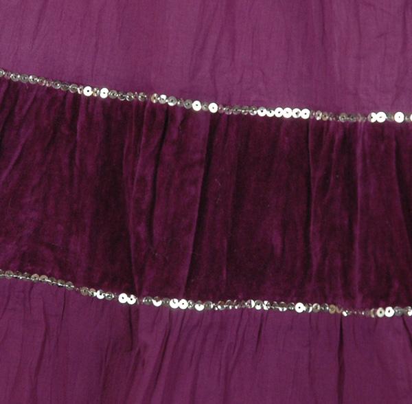 Seductive Purple Fashion Skirt