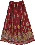 Lassie Sequin Long Skirt