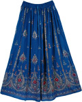 Catalina Blue Gypsy Fashion Skirt