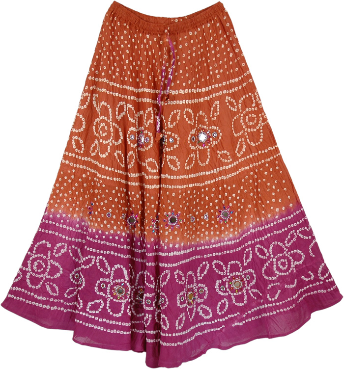 Colorful Indian Mirrors Long Skirt - Sequin-Skirts - Sale on bags ...