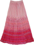 Pink Dazzle Long Skirt