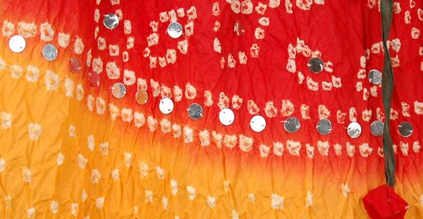 Mexican Glare Tie Dye Long Skirt