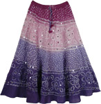 Pheromones Tie Dye Long Skirt