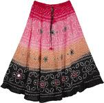 Wordsworth Tie Dye Long Skirt 33L