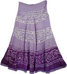 London Hues Tie Dye Skirt