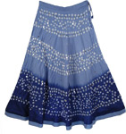 Cove Blue Tie Dye Skirt