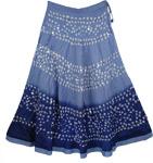 Cove Blue Tie Dye Skirt