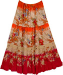 Scarlet Womens Long Skirt