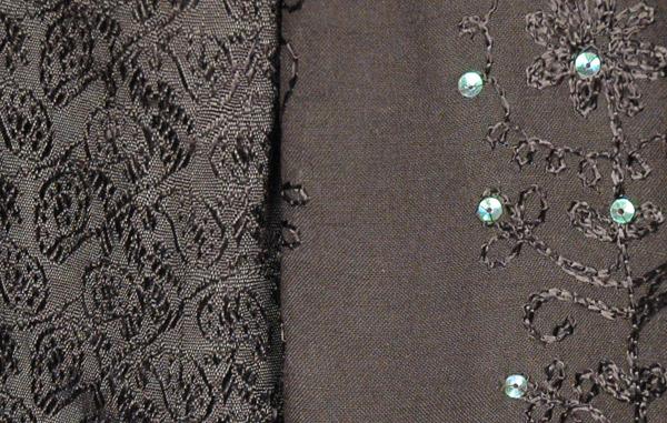 Black Embellished Fashion Skirt