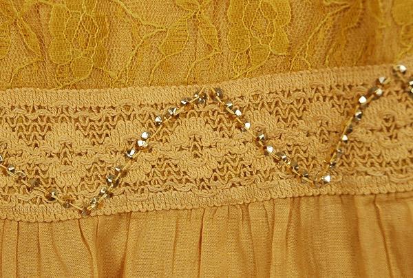 Gold Cape Ombre Long Plus Size Skirt