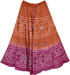 Mexican Riviera Fashion Long Skirt
