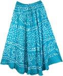 Bohemian Sparkle Blossom Sequin Skirt