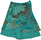 Lochinvar Ethnic Short Wrap Around Skirt