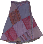 Dolphin Patch Short Wrap Around Skirt
