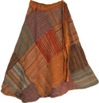Kumera Boho All Season Wrap Around Skirt