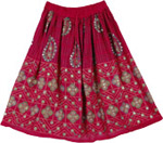 Shiraz Damsel Short Skirt
