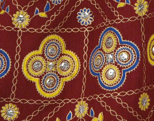 Persian Plum Short Skirt