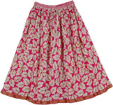 Shiraz Summer Short Skirt