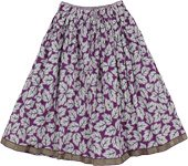 Tawny Port Summer Short Skirt