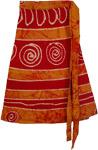 Flares Short Wrap Skirt