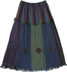 Navajo Cotton Frills Skirt