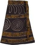Pickled Bean Wrap Short Skirt