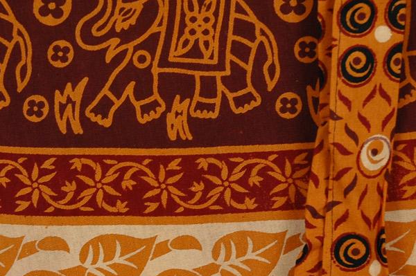 Tenn Animal Wrap Short Skirt