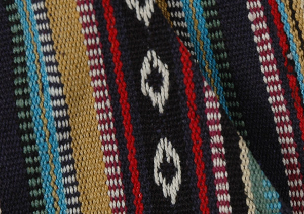 Hand Woven Colorful Cotton Boho Shorts