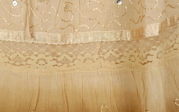 Cameo Cape Ombre Cotton Skirt