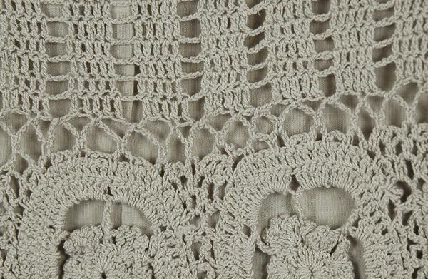 Napa Grey Crochet Short Fashion Skirt