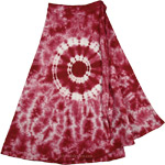 Bright Colorful Tie Dye Short skirt  [4185]